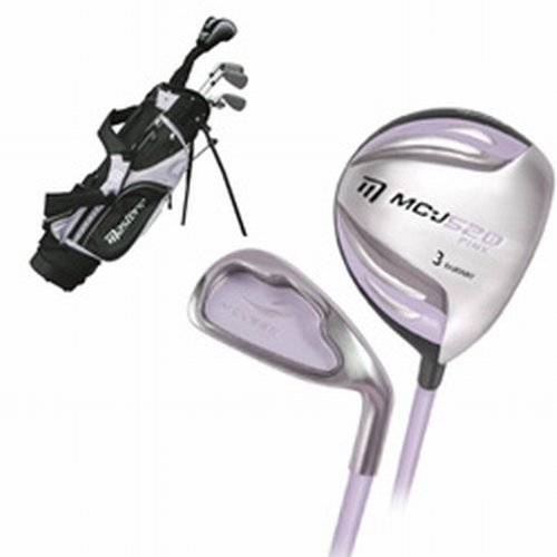 Masters MC-J520 Girls Half Set 9-11 - Lilac Right Hand Graphite Junior