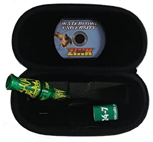GREEN ENVY ATM MACHINE DOUBLE REED DUCK CALL GREEN ENVY DVD ~ ZINK CALLS 6014 by Zink Calls