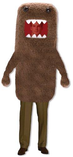 Domo Adult Costume  ドーモの大人用コスチューム♪ハロウィン♪サイズ:L/XL