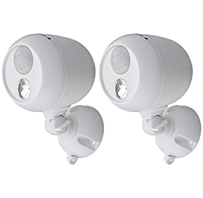 Mr. Beams MB360 Battery Powered Motion Sensing LED Outdoor Security Spotlight