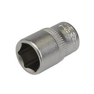 Silverline 889318 Socket Drive Metric, 1/4-inch
