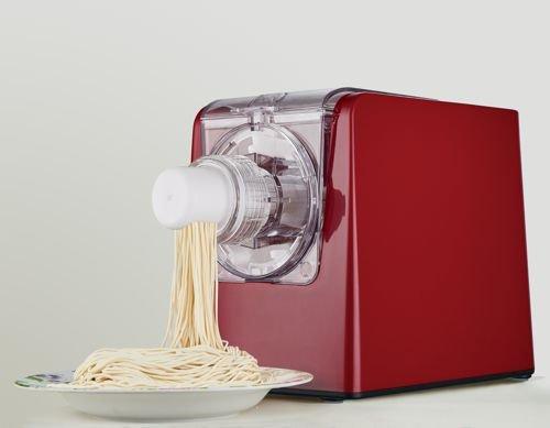 Sirge PASTAMAGIC Macchina per pasta fresca fatta in Casa fino a 650gr con 10 trafile di tipi di pasta e KIT RAVIOLO OMAGGIO [300 Watt] Automatica e Digitale impasta e produce la Pasta