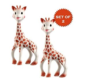 Vulli Sophie the Giraffe Teether Set of 2