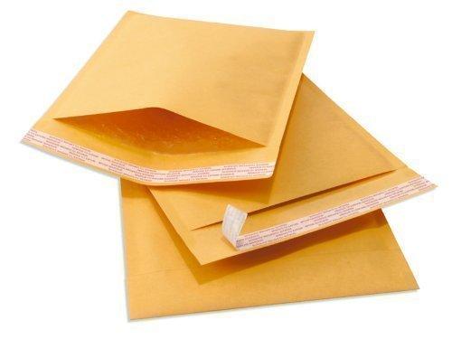 "Kraft Self Seal Bubble Mailer Padded Envelopes, #7, 14.25"" x 19"", Pack of 50"