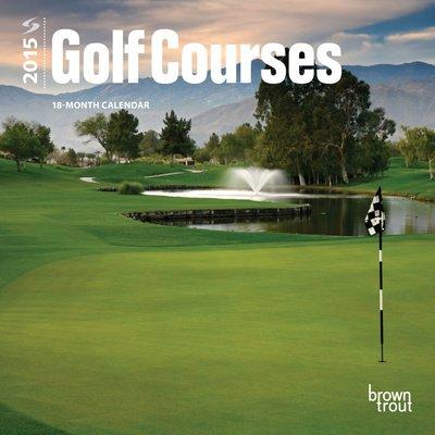 (7X7) Golf Courses - 2015 Mini Calendar