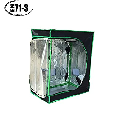 "Christmas Promotion! Quictent â…¡ 30""x18""x36"" Reflective Mylar Hydroponic Grow Tent for Indoor Plant Growing, EN71-3 Approved Cover, Eco-friendly!"