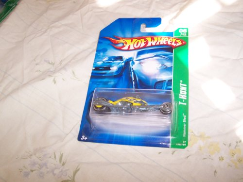 2007 Treasure Hunt #6 Hammer Sled Yellow Collectibles Collector Car #2007-126 Hot Wheels