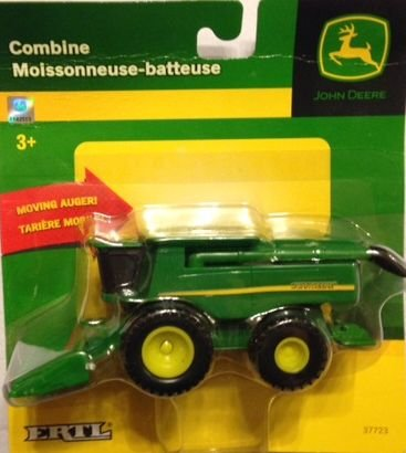 1:64 Ertl John Deere Combine With Moving Auger