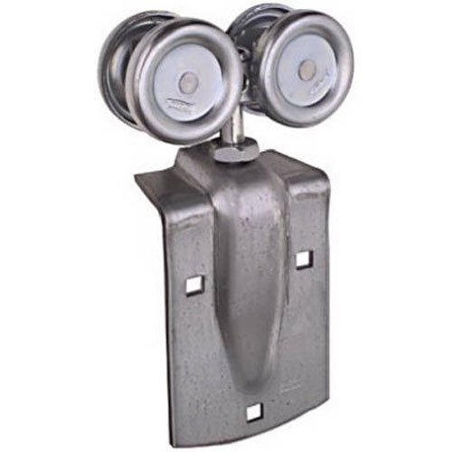 Stanley National Hardware N112-102 Box Rail Trolley Hanger Pair for Indoor/Outdoor Wood Sliding Doors (Barn Door Track Hardware compare prices)