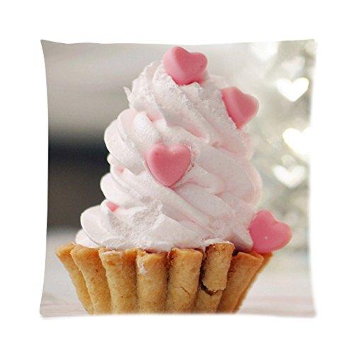 Dessert Cup Cake Coffee Shop Zpc279 Art Cushion Cover Restuarant Pillow Case Home Decor New