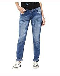 Yepme Women's Blue Poly Cotton Jeans - YPWJEAN5153_34