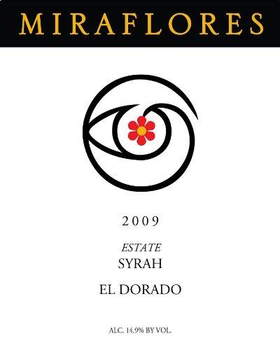 2009 Miraflores Estate Syrah El Dorado 750Ml