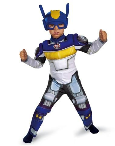 Disguise Inc Unisex Child Transformers Chase Muscle Toddler Costume