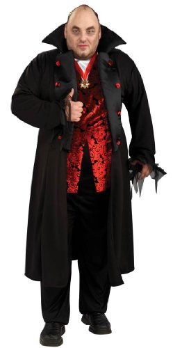 Plus Size Royal Vampire Costume - Mens Full 46-52