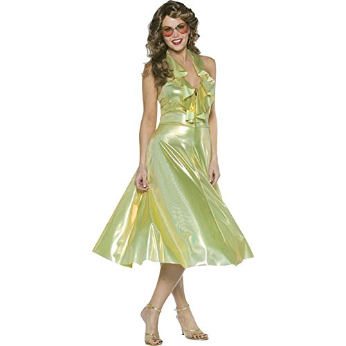 Women's Dancing Queen Halloween Costume (Size: Standard 6-10)