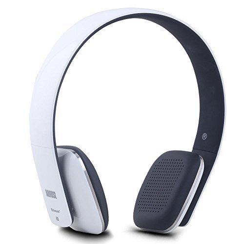 August EP636 - Cuffie stereo Senza Fili Bluetooth NFC Over-Ear - Auricolari con Microfono integrato e batteria ricaricabile - Compatibile con Smartphones, iPhone, iPad, PC, Tablet, Telefonini