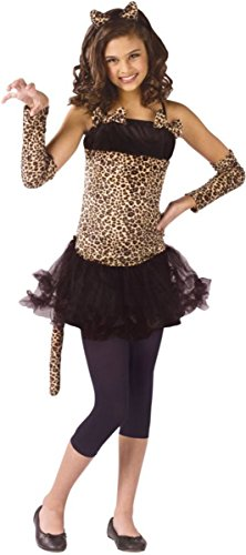 Morris Costumes Girl's WILD CAT CHILD, SM 4-6