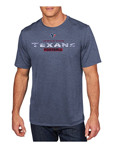 Mens Houston Texans Majestic Navy Blue Line to Gain III T-Shirt