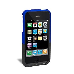 iFrogz Luxe Case for iPhone 3G, 3G S (Blue/Black)