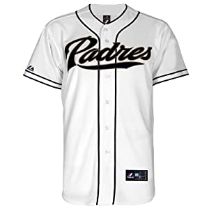 MLB San Diego Padres Home Replica Jersey, White by Majestic