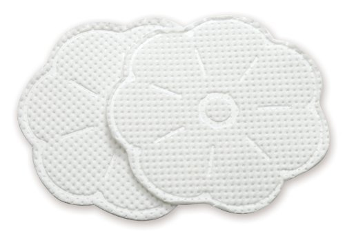 Absorbs nipple moisture and prevents leakage through clothing - Dr. Brown's Disposable Breast Pads, 60 Count
