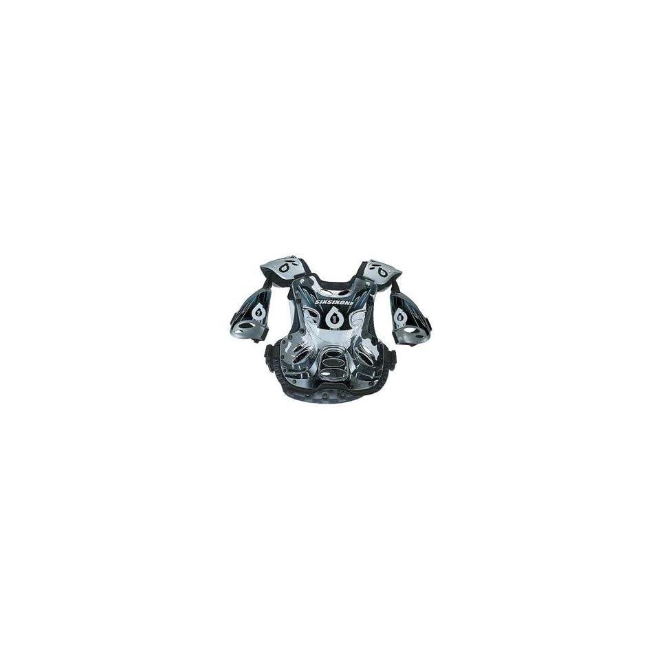 SixSixOne Defender 2 Chest Protector   Medium/Silver
