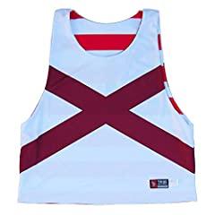 Alabama and American Flag Sublimated Lacrosse Pinnie