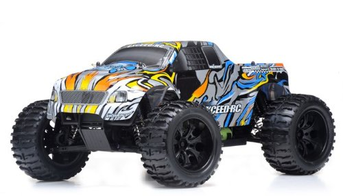 1/10 2.4Ghz Exceed Rc Electric Infinitive Ep Rtr Off Road Truck (Stripe Blue)