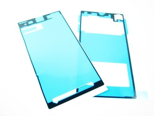 For Sony Xperia Z1 ~ Front LCD Display Screen+Back Cover Adhesive Glue Sticker ~ Mobile Phone Repair Part Replacement (Sony Xperia Z1 Replacement Cover compare prices)