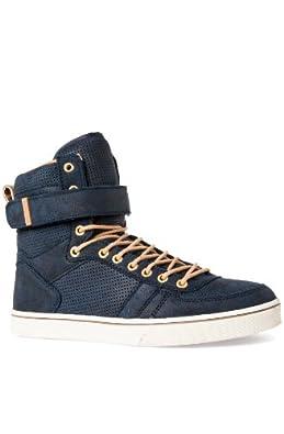 Radii Mens Moon Walker Black/White/Orange Fashion Sneakers US 11 NIB