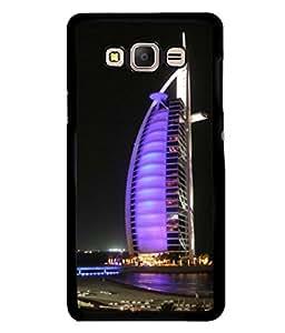 printtech Burj Al Arab Dubai Building Back Case Cover for Samsung Galaxy E5::Samsung Galaxy E5 E500F