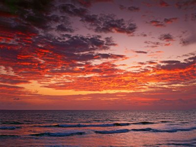 Sunrise Over the Atlantic Ocean, West Palm Beach, Florida