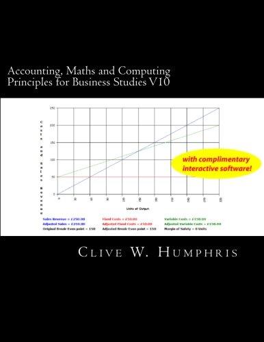 Accounting, Maths and Computing Principles for Business Studies V10