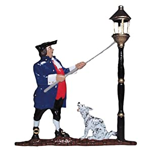 Whitehall Products Lamplighter Mailbox Ornament