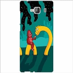 Design Worlds - Xiaomi Redmi 2 Prime Designer Back Cover Case - Multicolor ...