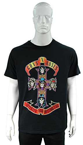 Guns N Roses Classic T-shirt: Appetite for Destruction ~ ~ Ufficialmente Licesned ~~ Formato: Piccolo
