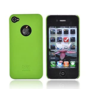 Case-Mate For iPhone 4 Barely There Hard Case GREEN