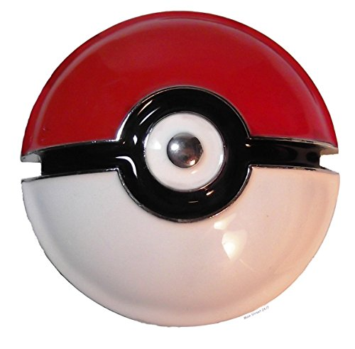 Pokemon POKEBALL Logo Metal Enamel BELT BUCKLE (Pokemon Belt Buckle compare prices)