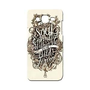 BLUEDIO Designer 3D Printed Back case cover for Samsung Galaxy A3 - G5416