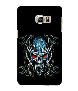 printtech Danger Skull Design Back Case Cover for Samsung Galaxy S4::Samsung Galaxy S4 i9500