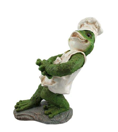 Funny Frog Chef Tabletop Wine Bottle Holder front-1014516
