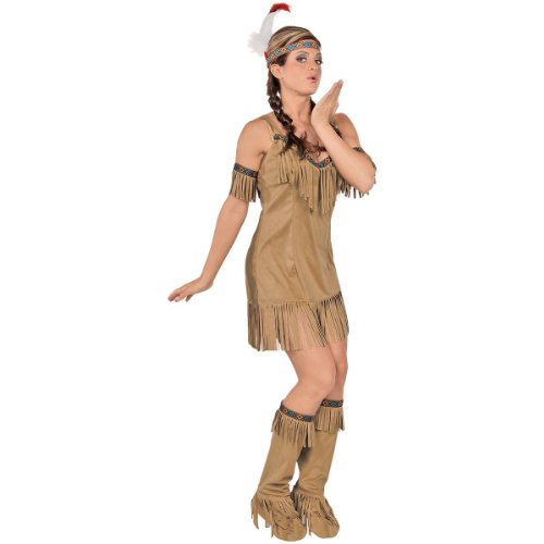 Native Princess Costume - Medium - Dress Size 8-10