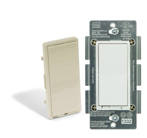 In-Wall Decora Style On/Off Z-Wave Switch Jasco 45709 (Former Ge 45609)