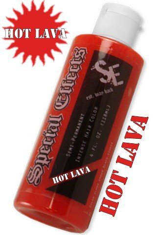 Special Effects Hair Dye -Hot Lava #3 (Nuclear Red Special Effects compare prices)