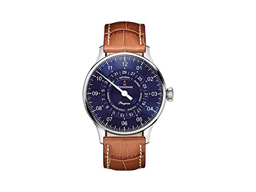 MeisterSinger reloj hombres automática Pangaea Day Date PDD908