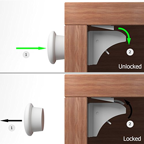 Balfer Baby Safety Cabinet Locks Set  Locks