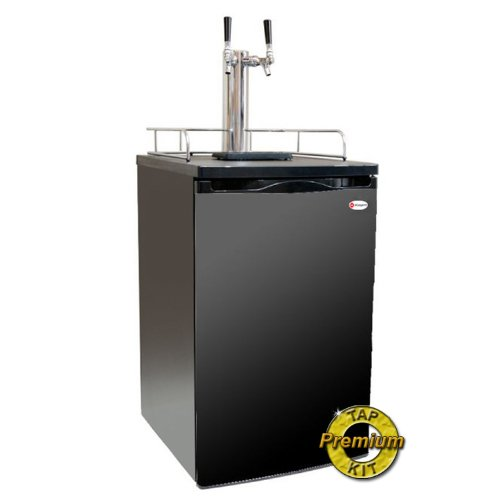 Kegco K199B-2P Kegerator Two Keg Beer Cooler