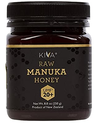 Kiva Certified UMF 20+ - Raw Manuka Honey (8.8 oz) by Kiva Health Food