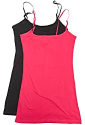 2 or 4 Pack Active Basic Women's Plus Size Basics Cami Tank Top