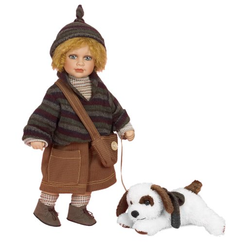 Ethan & Puppy Collectable Doll by Showstoppers & Florence Maranuk